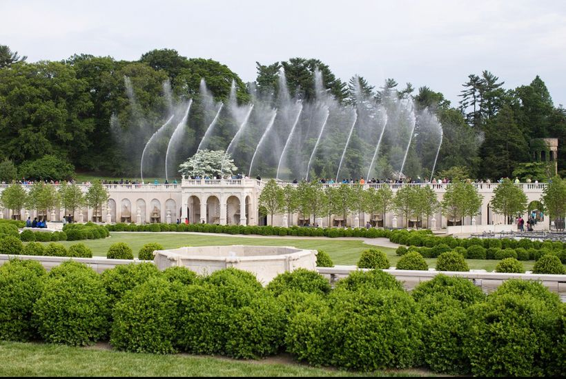 Main Fountain Garden, Longwood Gardens, Kennett Square, PA, 2017. Photo © Noah Devereaux, courtesy West 8 Urban Design &