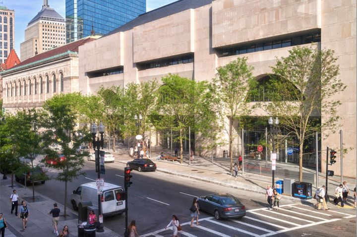 <p>Boston Public Library, Boston, MA, 2016. Photo © Millicent Harvey, courtesy Reed Hilderbrand.</p>