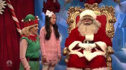 Santa Dodges Tough Questions About Al Franken And Roy Moore On