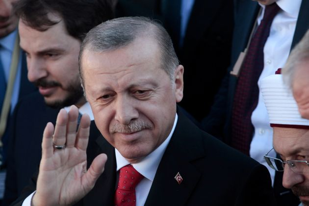 Βίντεο: «Επεισόδιο» κατά την επίσκεψη του Ερντογάν στην