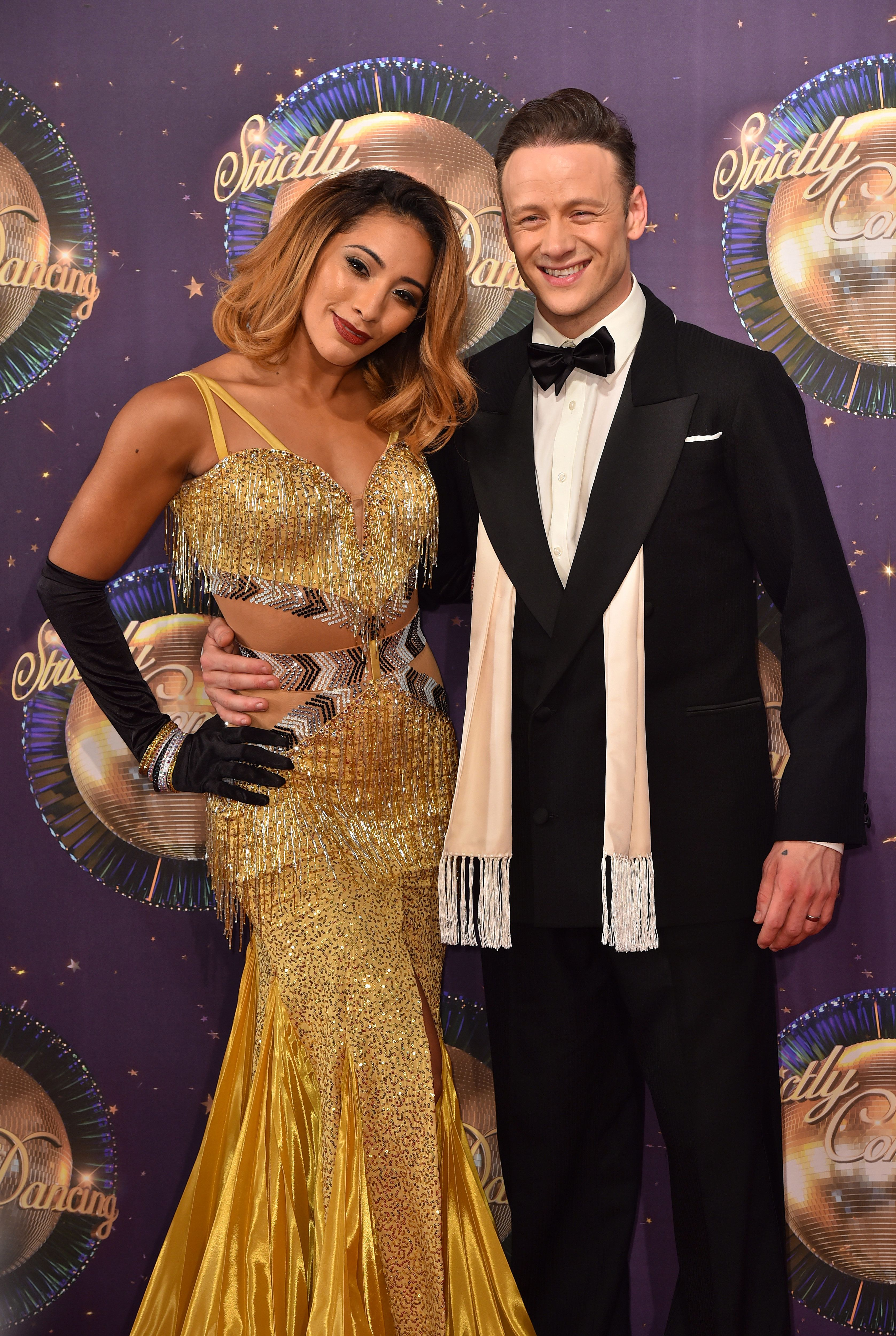<strong>Karen and Kevin Clifton</strong>