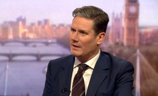 Sir Keir Starmer on the Andrew Marr