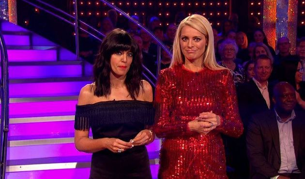 Tess Daly and Claudia Winkleman joked about Mollie and