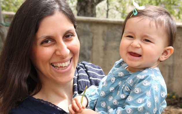 Nazanin Zaghari-Ratcliffe, seen here with her daughter Gabriella, has been imprisoned in Iran since