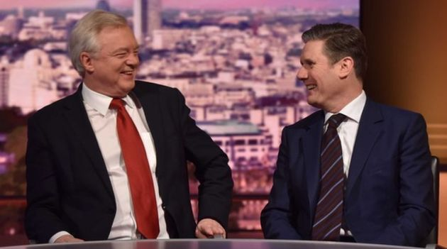 David Davis and Keir Starmer were guests on the Andrew Marr