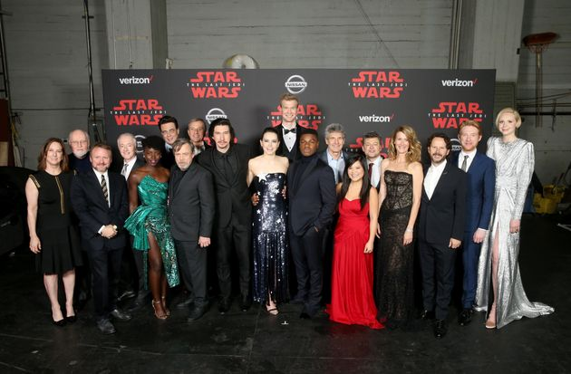 'Star Wars: The Last Jedi' Premieres With Humorous Carrie Fisher
