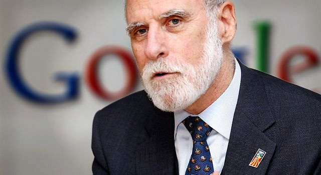 Vinton Cerf, Vice President and Chief Internet Evangelist  @Google