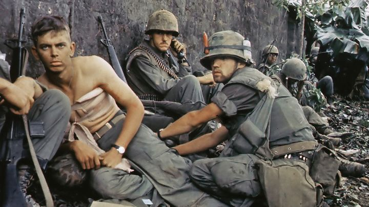 A medic treats a wounded soldier in 1967 during fighting in Hue. Have we forgotten the lessons of the Vietnam war?