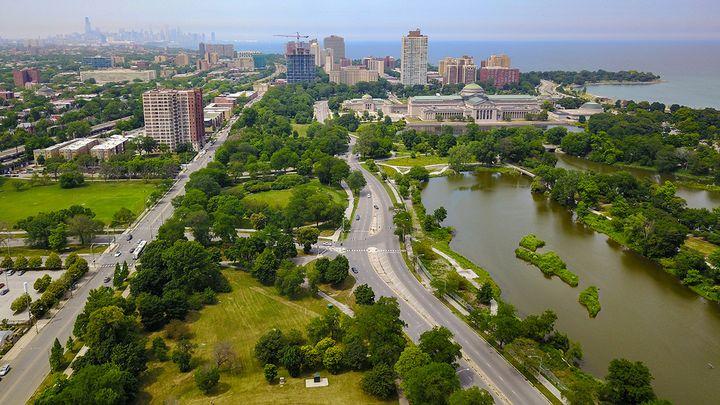 <p>Jackson Park, Chicago, IL. Photo © Steven Vance.</p>
