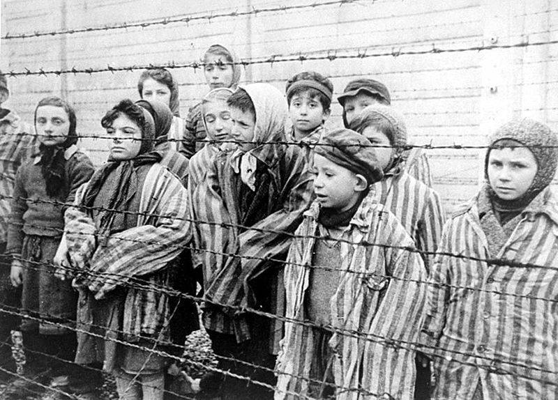 Children survivors of Auschitz