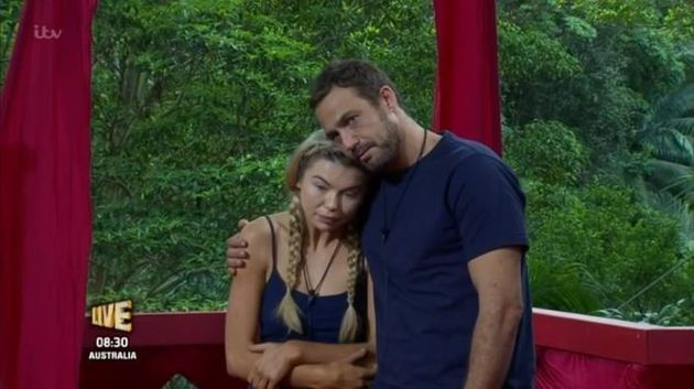 Georgia Toffolo and Jamie Lomas battled it out in the 'I'm A Celebrity'