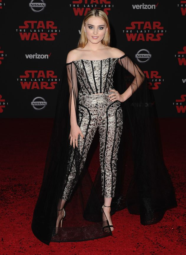Carrie Fisher S Daughter Billie Lourd Led The Princess