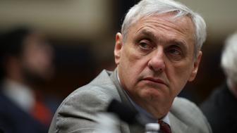 WASHINGTON, DC - MARCH 16:  Ninth Circuit Appeals Court Judge Alex Kozinski looks on during a House Judiciary Committee hearing on March 16, 2017 in Washington, DC. Judges with the Ninth testified before the committee about the restructuring of that court.  (Photo by Justin Sullivan/Getty Images)