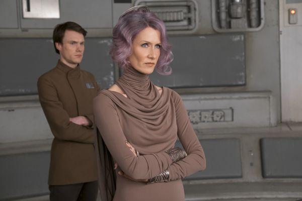 Laura Dern is Amilyn Holdo in <em>Star Wars: The Last Jedi </em>