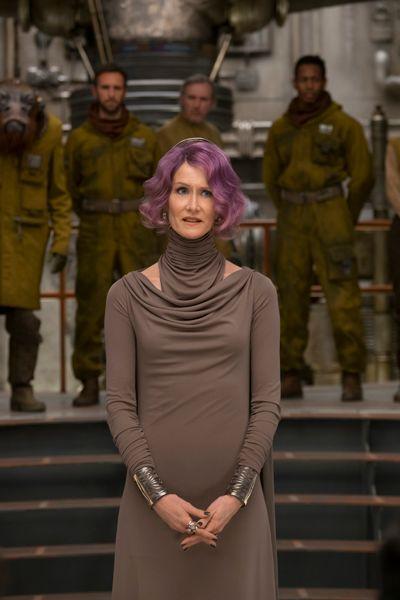 Laura Dern is Amilyn Holdo in <em>The Last Jedi</em>
