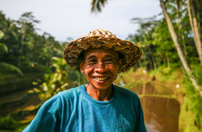 One of the local farmers.
