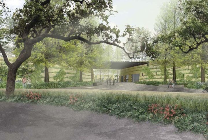 <p>San Antonio Botanical Garden, San Antonio, TX. Rendering courtesy Ten Eyck Landscape Architects.</p>