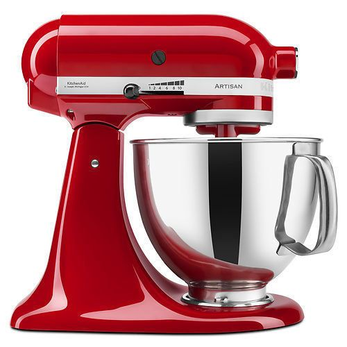 """KitchenAid Stand Mixer 5-QT. 51% off from $345. <strong><a href=""""https://www.ebay.com/itm/KitchenAid-Stand-Mixer-tilt-5-QT-RRK150-Artisan-Tilt-Choose-From-Many-Colors/361965760562?_trkparms=5373%3A0%7C5374%3AFeatured"""" target=""""_blank"""">Now $170</a></strong>."""
