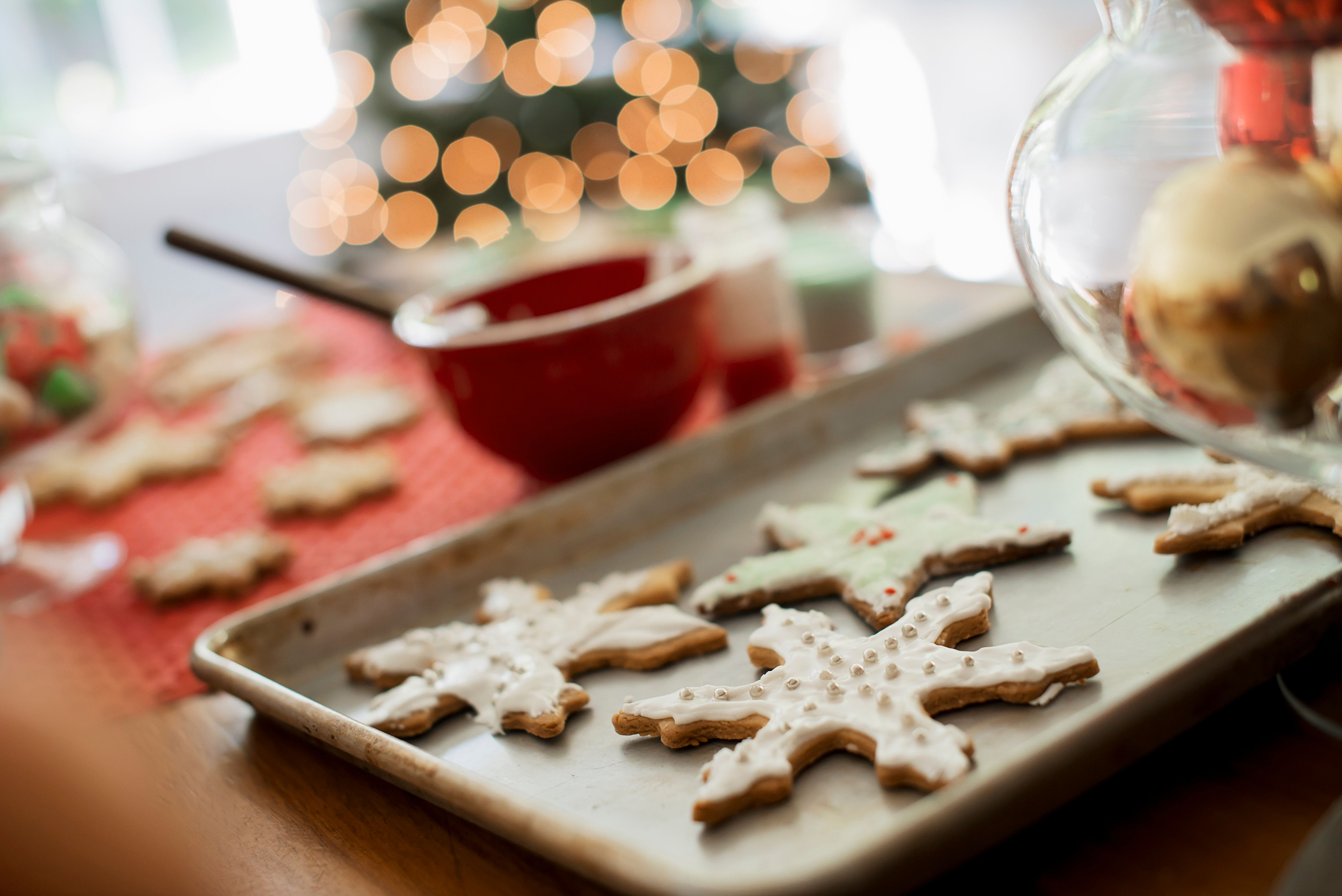 We asked members of the HuffPost Parents community about their holiday traditions that don't focus on toys. Baking good