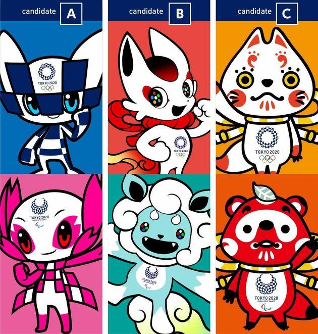 Αυτές είναι οι μασκότ-φιναλίστ για τους Ολυμπιακούς του Τόκιο το 2020 (και είναι όλες