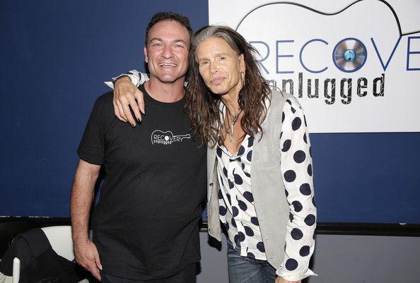 Paul Pellinger with Steve Tyler