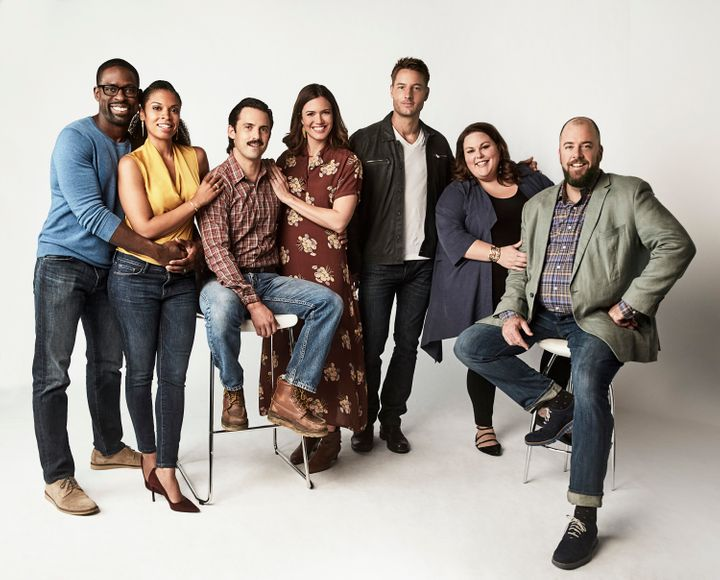 From left: Sterling K. Brown as Randall, Susan Kelechi Watson as Beth, Milo Ventimiglia as Jack, Mandy Moore as Rebecca, Just