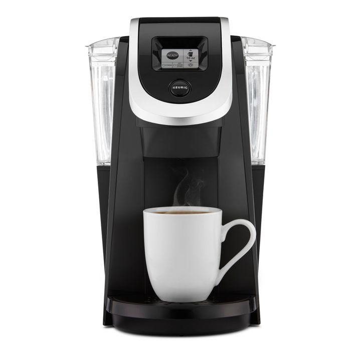 "Keurig&reg; K200 Single-Serve K-Cup&reg; Pod Coffee Maker. <a href=""https://www.target.com/p/keurig-174-k200-single-serve-k-cup-174-pod-coffee-maker/-/A-17262041?lnk=rec|plp|top_sellers|plp|17262041|1"" target=""_blank""><strong>Now $89.99. Save $20 for every $100</strong></a>."