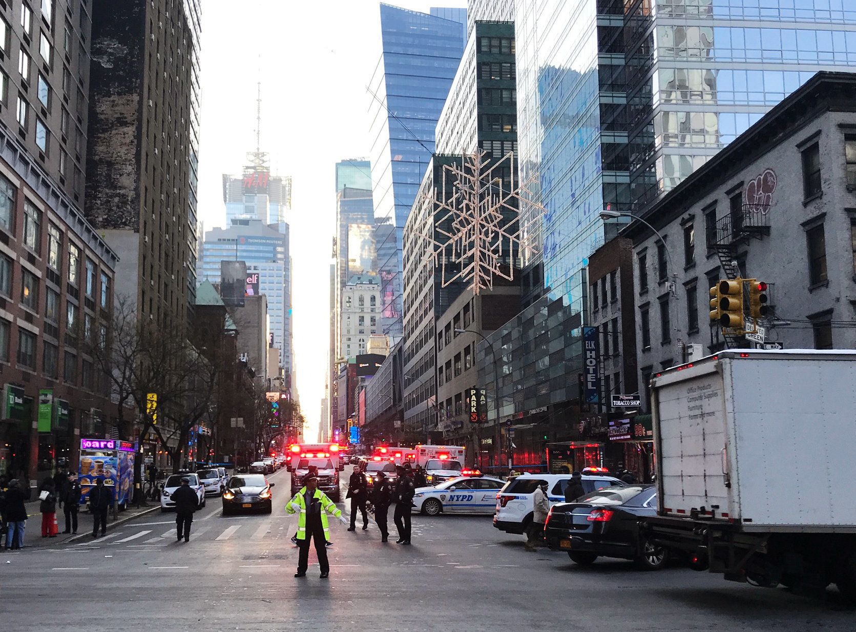 Suspect Captured After 'Terror-Related' Explosion In New York Prompts Subway