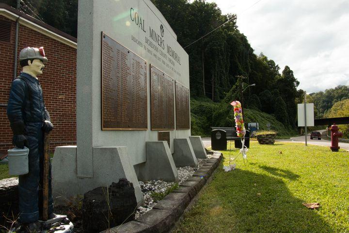 Dickenson County Miners Memorial - Clinchco, Virginia