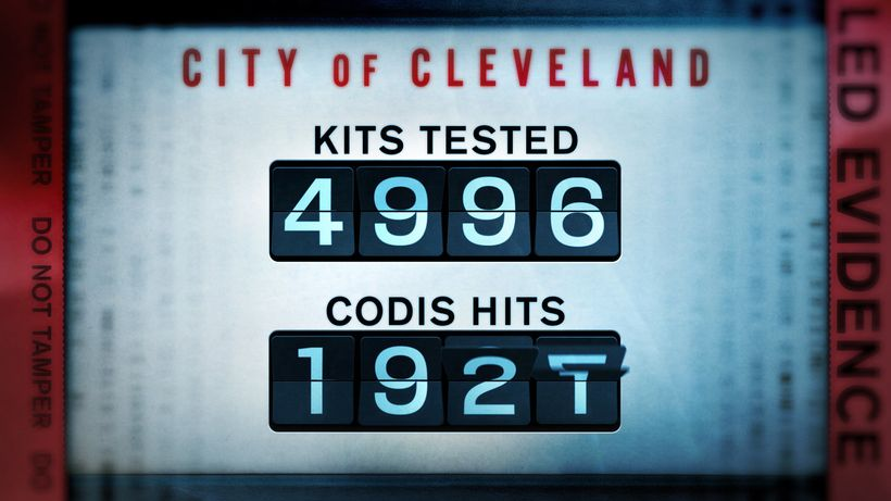 As a result of 4996 rape kits tested, 1927 had positive identification on the FBI's Combined DNA Index System - Which had pre