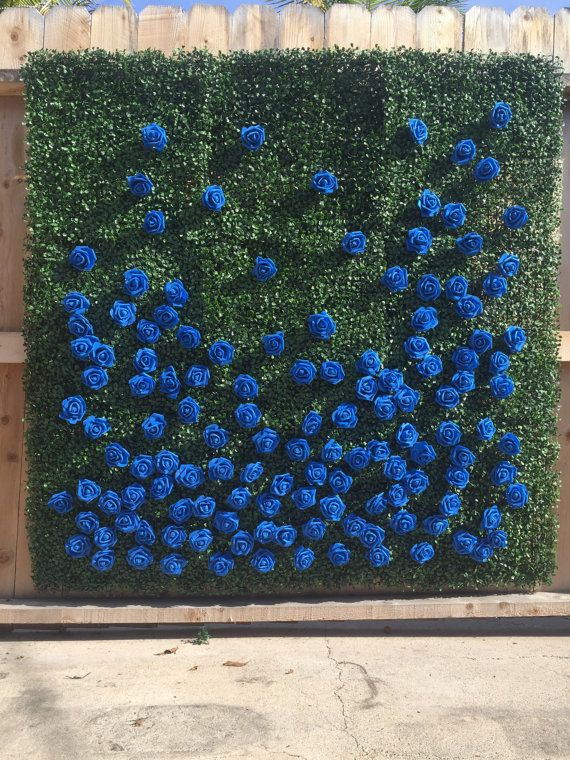 """Organic-style walls made of boxwood are the new floral wall. The boxwood, <a href=""""https://www.etsy.com/listing/474673999/flo"""