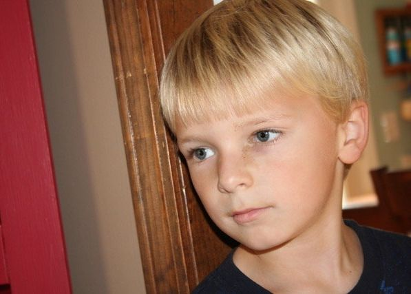ChaseKowalski, 7, could be shy, but gained confidence through his love of swimming, biking and running. His parents sta