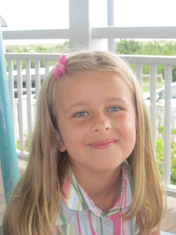 Grace Audrey McDonnell, 7, enjoyed art, baking, running and spending time with her family. To honor her life, her family