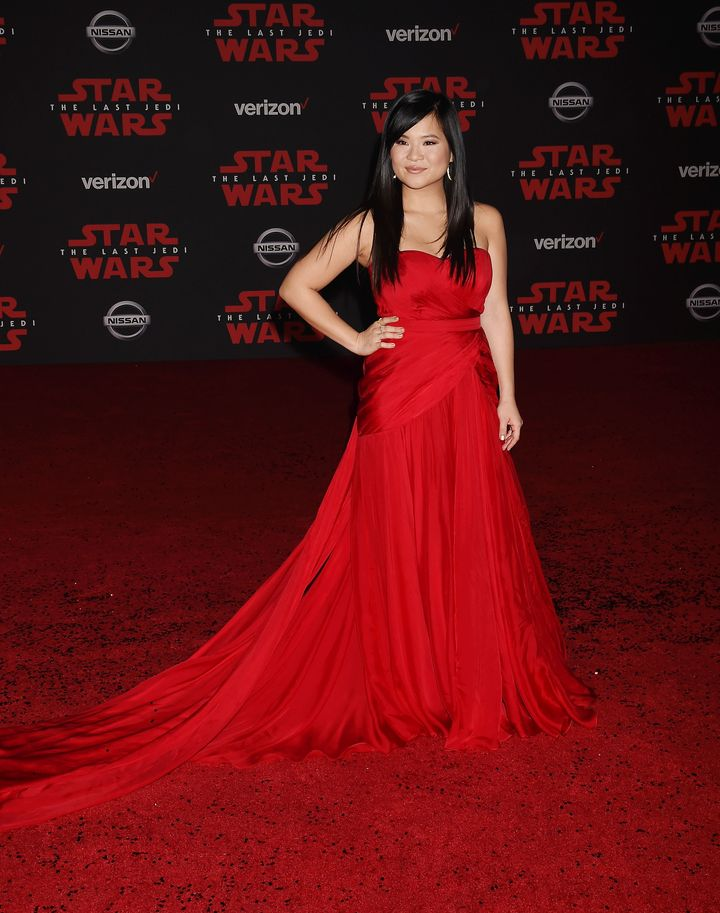 Kelly Marie Tran on Dec. 9, 2017 in Los Angeles.