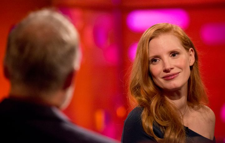 """Chastain on """"The Graham Norton Show."""""""