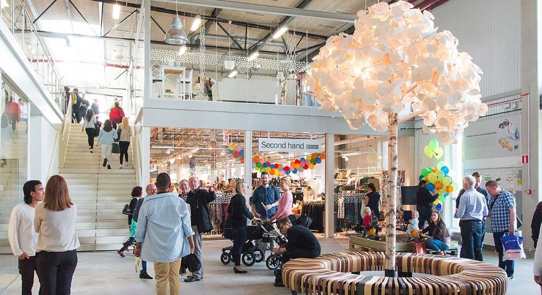 Geniales Konzept: In Schweden eröffnet das wohl ungewöhnlichste Kaufhaus der