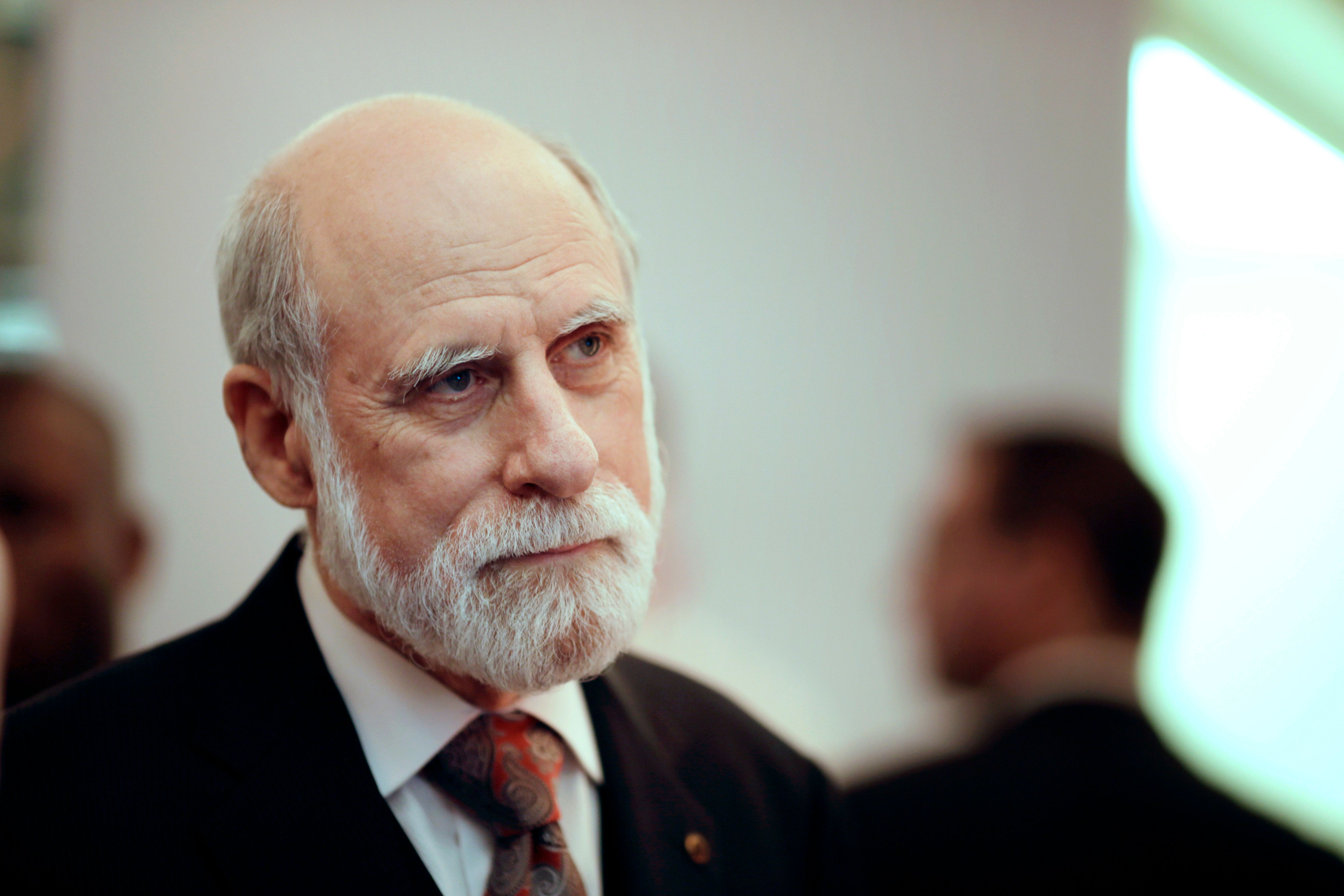 "Vint Cerf, Google's vice president and ""father of the internet,"" was one of more than 20 tech luminaries who wrote a let"