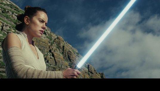 'The Last Jedi' Sends 'Star Wars' Soaring Into The