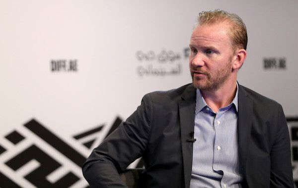 """""""In Conversation with Morgan Spurlock"""" at this year's Dubai International Film Festival"""
