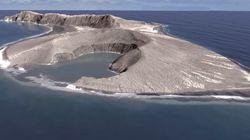 Το νησί του Ειρηνικού που αναδύθηκε από τις στάχτες ηφαιστειακής έκρηξης, ίσως να υπάρχει για 30