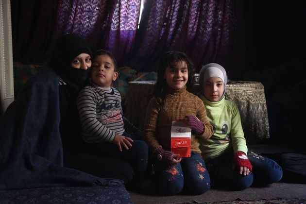 Um Muhammad and her family are trapped in East GhoutaUNICEF/Amer