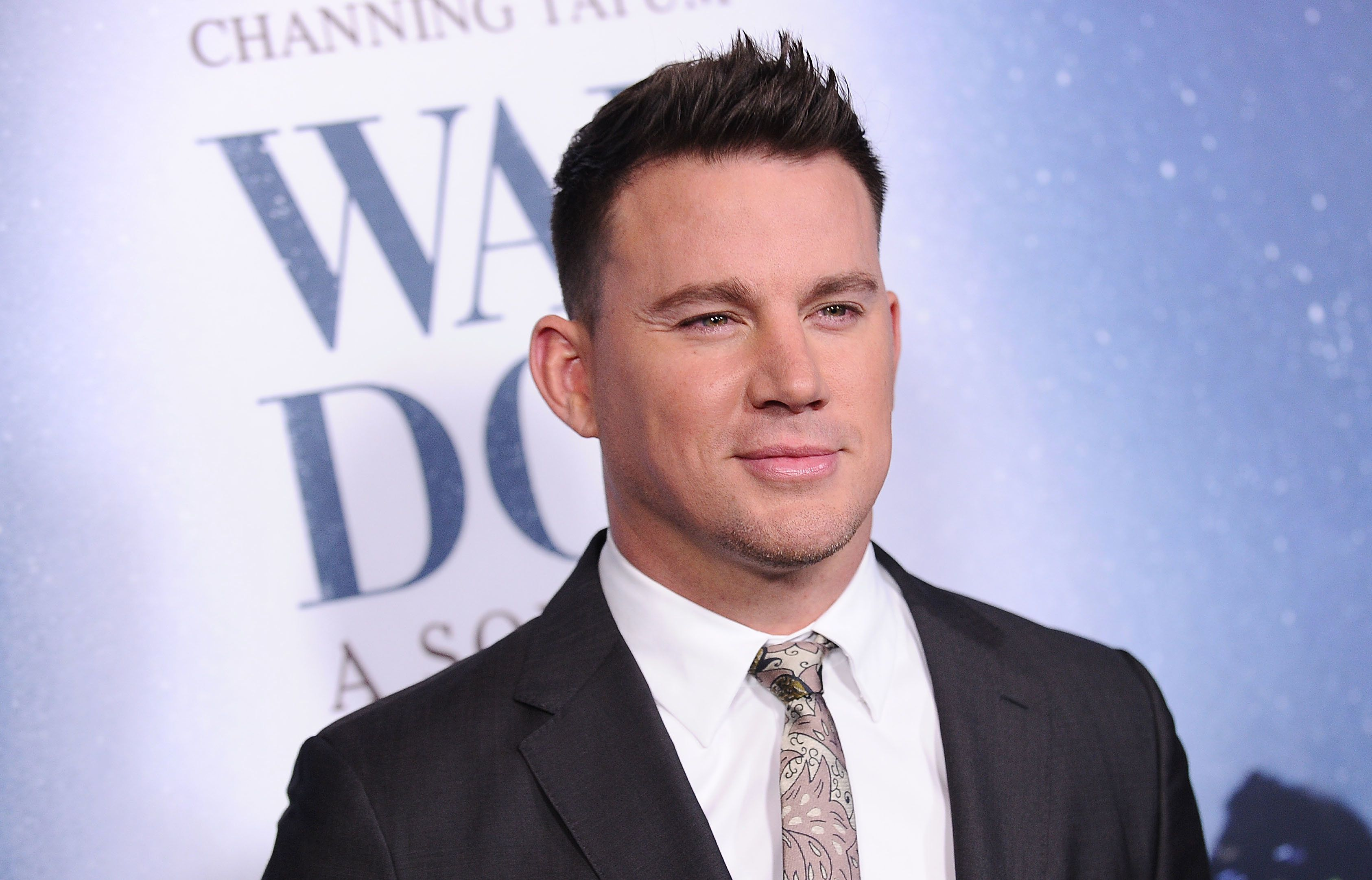 LOS ANGELES, CA - NOVEMBER 06:  Channing Tatum attends the premiere of 'War Dog: A Soldier's Best Friend' at Directors Guild Of America on November 6, 2017 in Los Angeles, California.  (Photo by Jason LaVeris/FilmMagic)