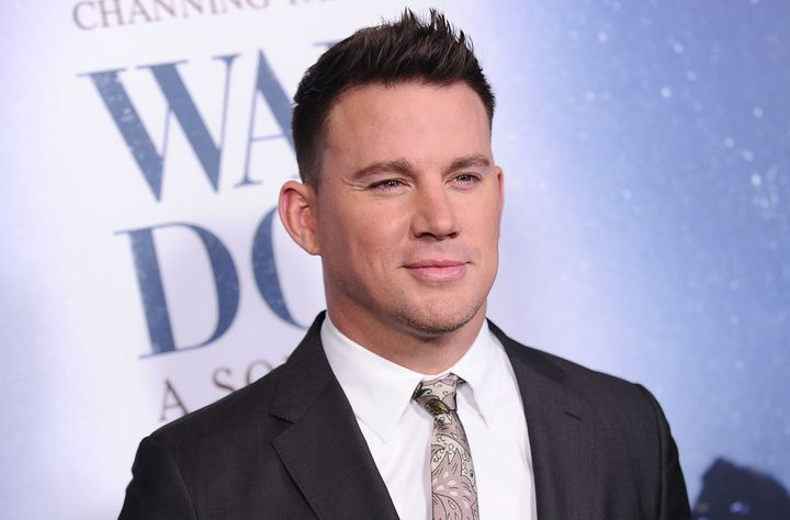 """Channing Tatum pictured at the premiere of """"War Dog."""""""