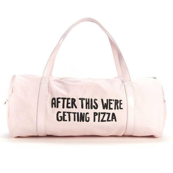 "This <a href=""https://www.amazon.com/dp/B01BLRMT4A/ref=strm_fun_nad_38_5?tag=thehuffingtop-20"" target=""_blank"">cute gym bag</"