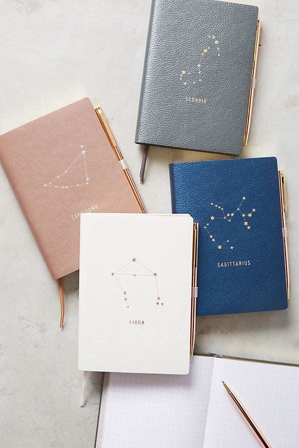 """This <a href=""""https://www.anthropologie.com/shop/zodiac-journal?category=SEARCHRESULTS&color=801"""" target=""""_blank"""">beautif"""