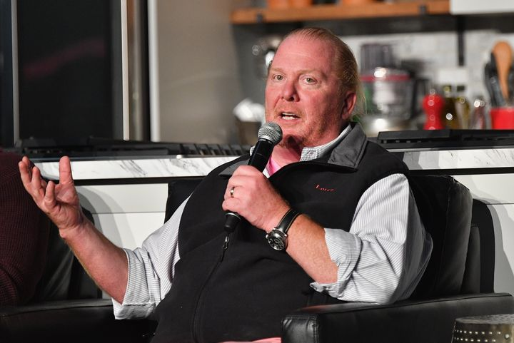 Mario Batali took a leave of absence from his company on Monday after multiple women accused him of sexual misconduct.