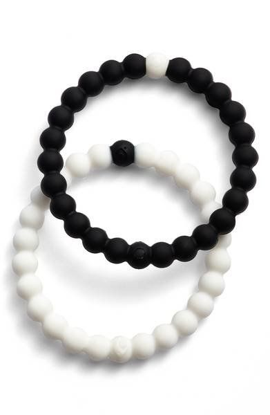 "These <a href=""https://shop.nordstrom.com/s/lokai-choose-your-cause-set-of-2-black-white-bracelets/4609925?origin=category-pe"