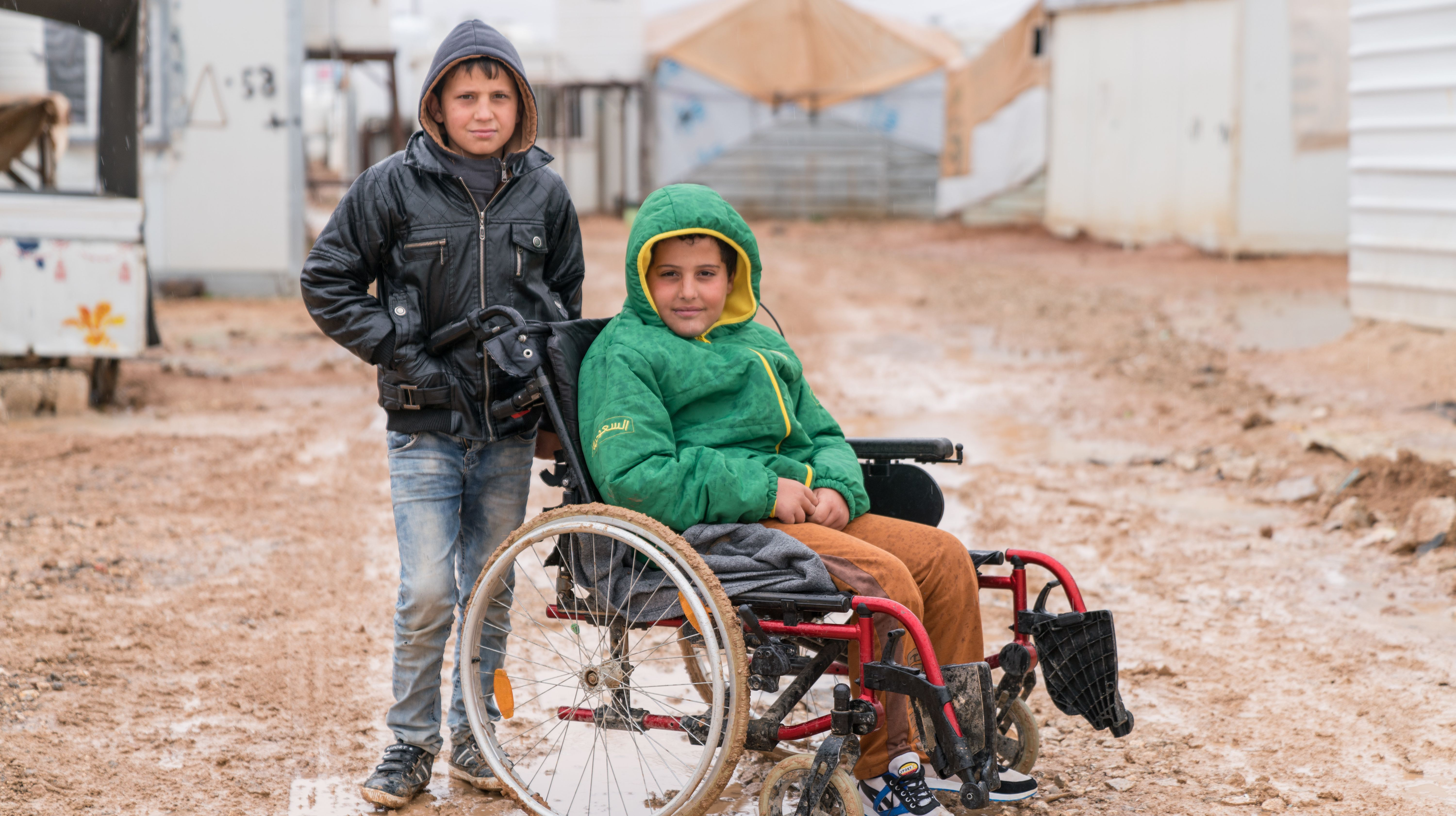 Syrian Best Friends Stick Together Against All Odds