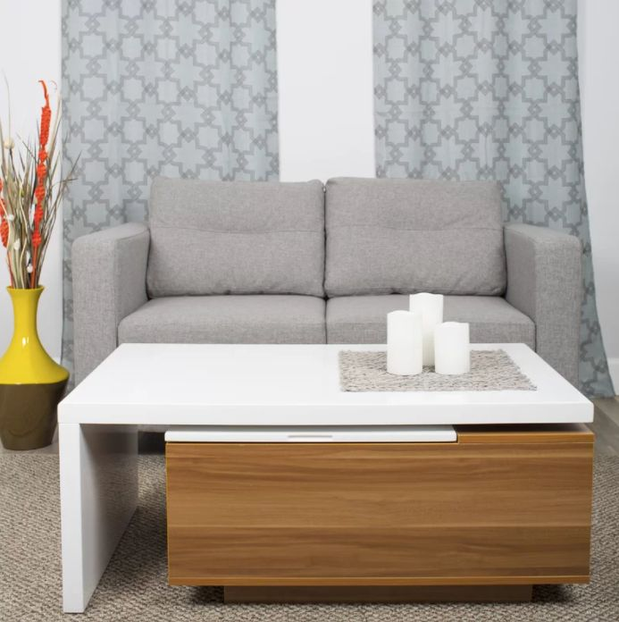 The Best Coffee Tables For Small Spaces Huffpost Life