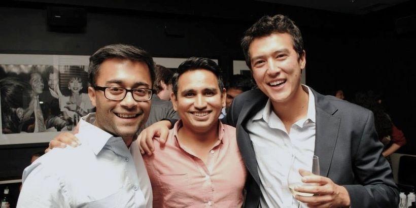 EquityZen Co-Founders Aitsh, Shriram and Phil